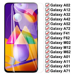 2x Tempered Glass For Samsung Galaxy A32 A52 4G A12 A41 A51 A72 Screen Protector