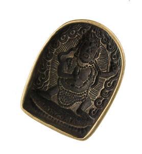 Stampo A Tsa Rituale Tibetano Buddista-Jan-Bodhisattva Mahakala 25993