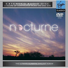 NOCTURNE - Classical Chillout Therapy Album - Music DVD Audio Disc NEW