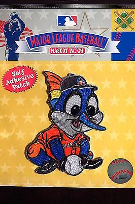 Sport Energisch Mlb Florida Marlins Baby Maskottchen Abzeichen Sticky Rückseite 2014 FüR Schnellen Versand