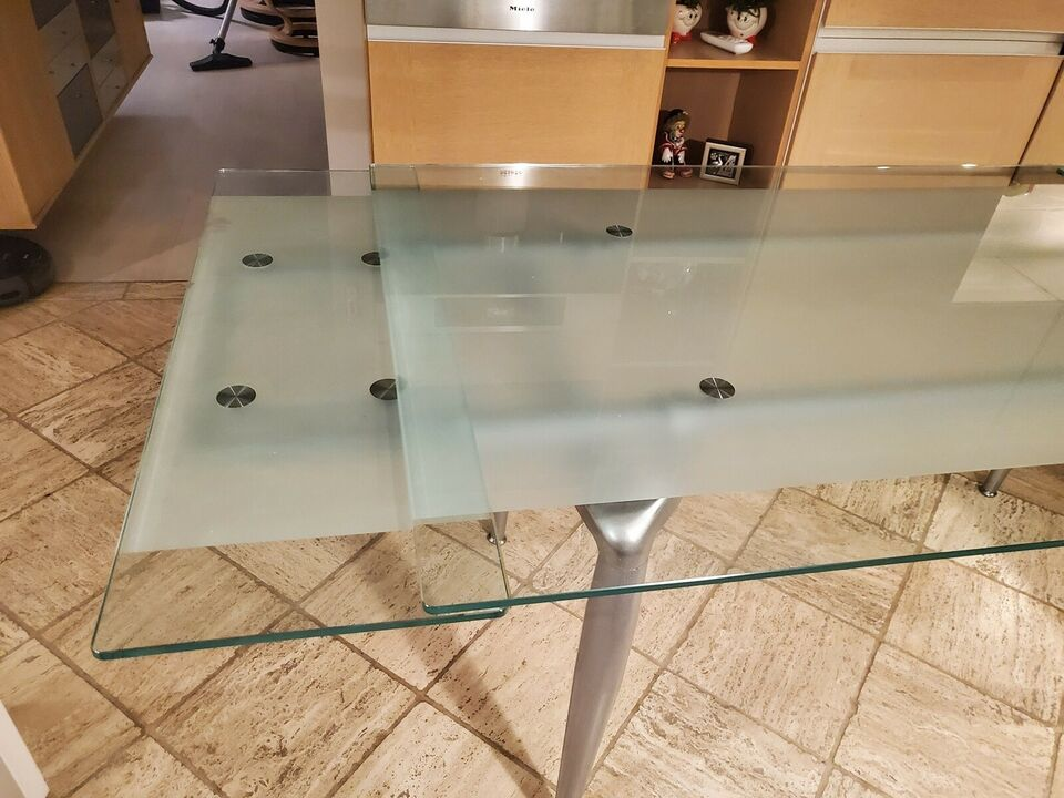 Glasbord, glas, b: 90 l: 160 h: 74