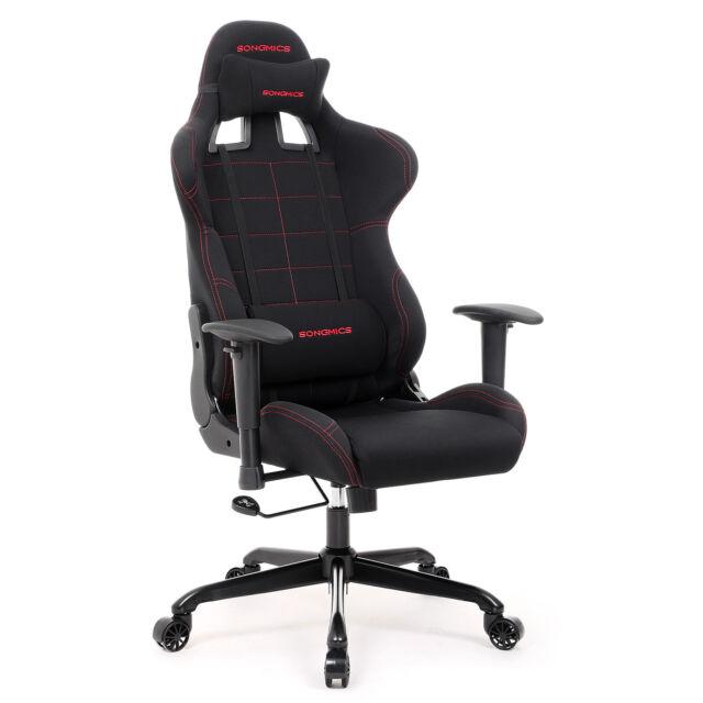 SONGMICS Bürostuhl Gaming Stuhl Schreibtischstuhl PC Chair Chefsessel RCG001 günstig kaufen