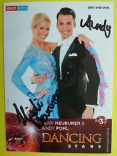 Dancing Star 2016 - Heidi Neururer & Andy Pohl (ORF eins Autogrammkarte)