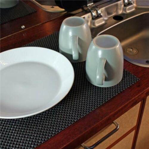Grid Non-Slip Mat Kitchen Accessories Protection Moisture-Proof Mat Foam Pad HO