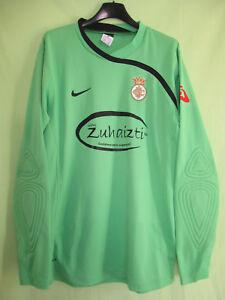 Maillot-Real-Union-Club-Irun-Goal-Gardien-But-zuhaizti-Nike-Spain-Jersey-M