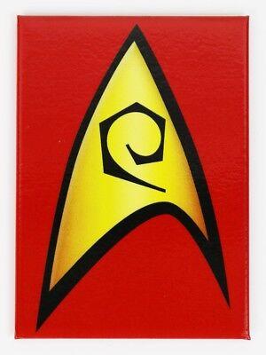 Star Trek Blue Communicator Badge Logo Refrigerator FRIDGE MAGNET Spock TV Movie