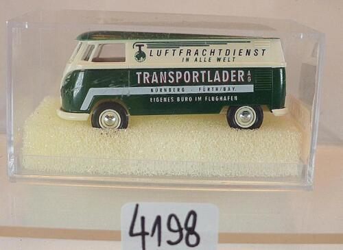 32507 Volkswagen Bulli VW T1b Kasten Transportlader OVP #4198 Brekina 1//87 Nr