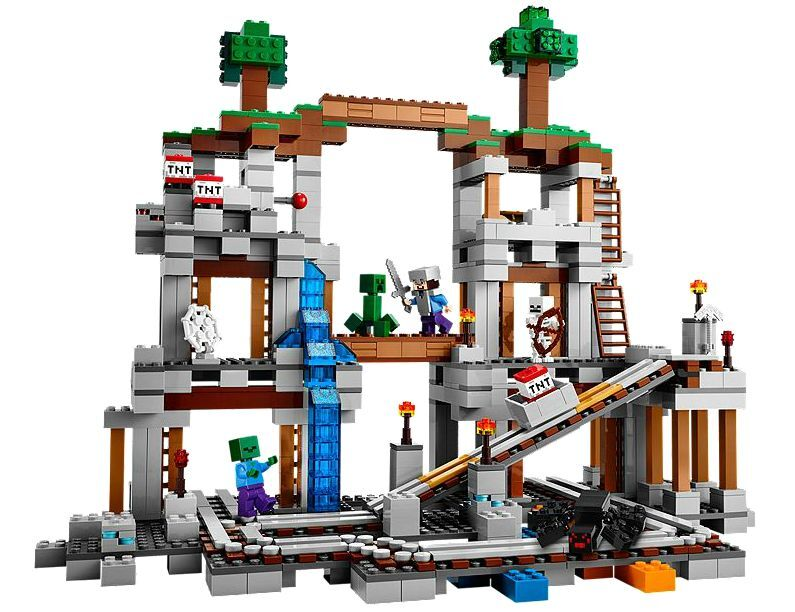 LEGO® Minecraft 21118 Die Mine NEU OVP_ The Mine NEW NEW NEW MISB NRFB 56a81e