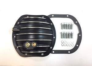 ALUMINUM DANA 25-27-30 DIFFERENTIAL COVER 10 BOLTS POLISHED