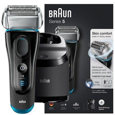 Braun Oral-B Series 5 Rasierer - 5190cc System wet&dry in schwarz neu OVP