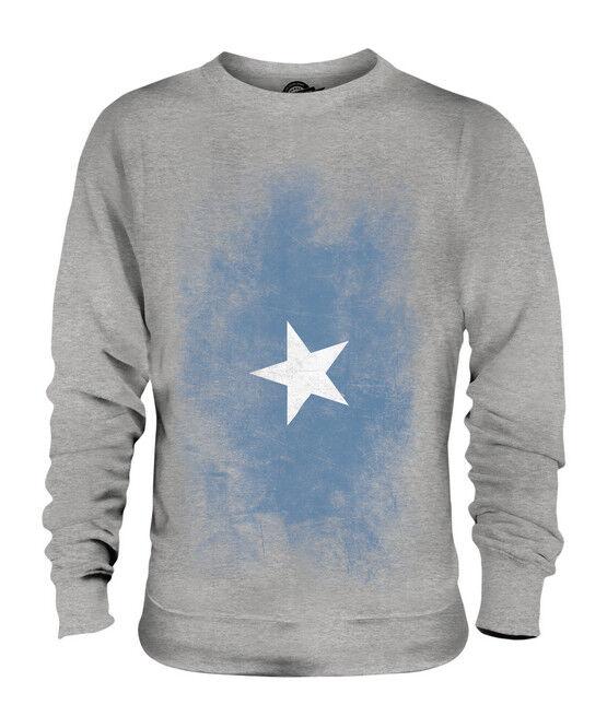 SOMALIA VERBLICHEN FLAGGE UNISEX SWEATER PULLOVER PULLI SWEATSHIRT SWEATSHIRT SWEATSHIRT HERREN DAMEN   Verwendet in der Haltbarkeit    Kaufen Sie beruhigt und glücklich spielen    Reichlich Und Pünktliche Lieferung  2b072d