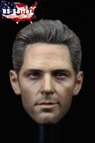 1/6 Paul Rudd Ant Man Head Sculpt For 12 Hot Toys PHICEN TBLeague Figure ❶USA❶