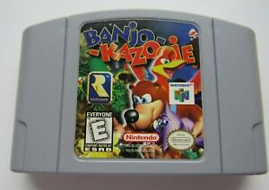 ✅ *GOOD* Banjo-Kazooie Nintendo 64 N64 Video Game Cart Retro Kids Super Rare ✅