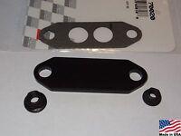 86-93 Ford Mustang Gt Or Cobra (black) 5.0 Billet Aluminum Egr Delete Kit