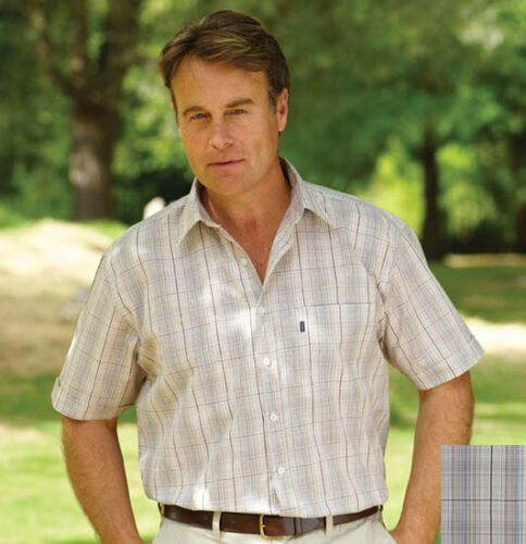 Champion Mens Haydock Short Sleeve Shirt Country Hunting FREE UK P/&P