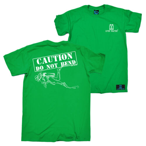 Do Not Bend Novelty Birthday Christmas Gift Mens T-Shirt FB Scuba Diving Tee