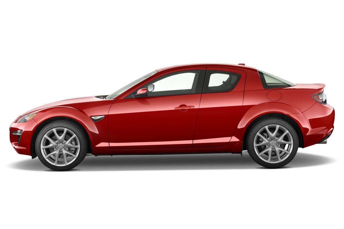 Mazda RX-8 side view