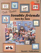 Burdett CROSS STITCH Teddy n Friends Free Shipping too! 16 pg Booklet