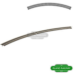 Hornby-R609-Third-Radius-Double-Curve-x8-Eight-Track-Pieces-OO-Gauge-1-76-Scale