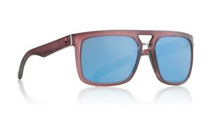 New Dragon Aflect Sunglasses Matte Crystal Redwood/Blue Lens 33248-618 RRP $180