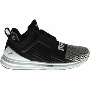 Image is loading Puma-Mens-Ignite-Limitless-Colorblock-Running-Shoes-Black- 5041d1441