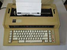 Vtg Ibm Actionwriter 1 Electric Typewriter 6715 001 Daisy Wheel Germany