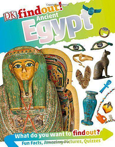 Ancien Égypte (Dkfindout Par DK, Neuf Livre ,Gratuit & , (Flexibound)