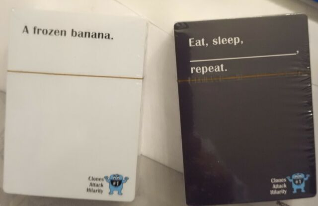 Clones Attack Hilarity 150 Card Expansion Pack Against Humanity #1 one each 150