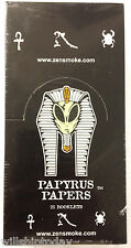 25 packs Papyrus 1.5 size imprinted cigarette rolling papers Egypt, ufo, etc