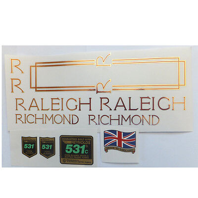Raleigh Europa decal set  British vintage
