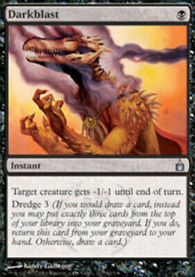 Darkblast Near Mint Foil English Magic the Gathering Ravnica Magic Card MTG TCG