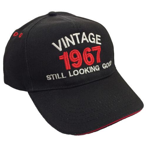 VINTAGE anno ancora LOOKING GOOD ricamato Berretto da Baseball Cappello data regalo di compleanno