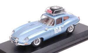 Jaguar E Type Coupe '# 104 À la retraite, R. Pinder / C. Pollard, modèle 1:43 Meilleurs modèles