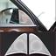 2pcs Car Inner Door Speaker Cover Trim for Mercedes Benz E Class W213 2016-2017
