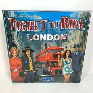Ticket-To-Ride-London-Days-Of-Wonder-Board-Game-New-Sealed-UK-Alan-R-Moon