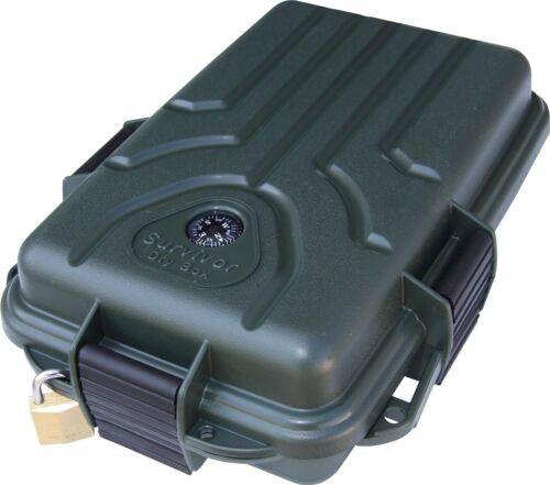 Résistant à L/'Eau SURVIVOR Dry Kit Box pour Sas Case Armée MTM Case Gard Petite