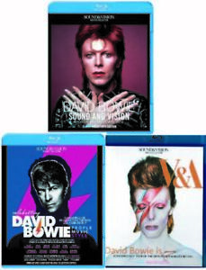 DAVID BOWIE / Blu-ray Collectors Edition 3title SET 3BD
