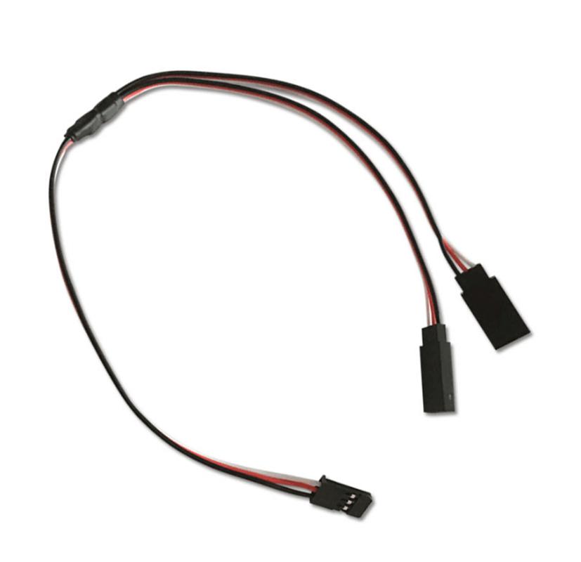 100 Pcs 30cm Servo Y Type Extension Cord Cable For  RC airplane Servo  fornire un prodotto di qualità