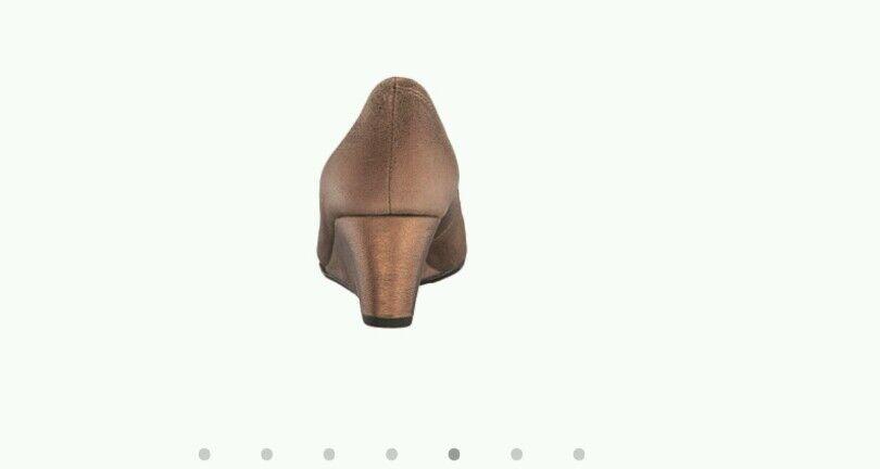Vaneli Vaneli Vaneli Lara Women's Bronze Cipria Wedge Size 11 cd9356