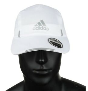 4a653ed46b0a Adidas Men Climacool Running Caps Baseball Hat Golf White OSFM Hat ...