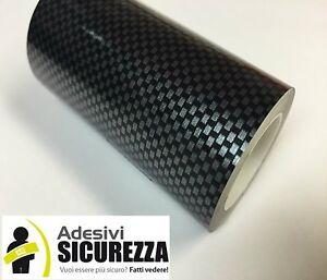 Black Carbon Fiber Vinyl stickers decal Tape 8 Inch x 10 feet(3 meters) bike car