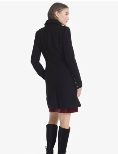 Market Retail Coat Nwt Black Militær House 220 White Tw6xERqW