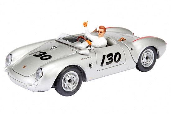 Schuco Porsche 550 Spyder  James Dean  con figura - 1 18