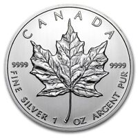 2012 Canadian Maple Leaf 1 oz .9999 Silver Coin