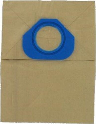10 Papier sacs d/'aspirateur pour s/'adapter à Nilfisk GS80 et GS81 poubelles HS24X2