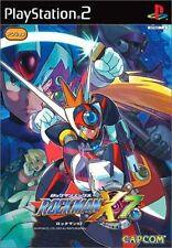 PS2 Rockman X7 Megaman Japan F/S