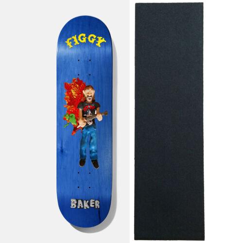 """Baker Skateboard Deck Figgy Kazi 8.25/"""" x 31.5/"""" with Grip"""