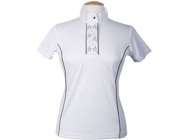 Harry  ´ S Horse Ladies Tournament shirt Anniversary White tournament blouse with  up to 50% off
