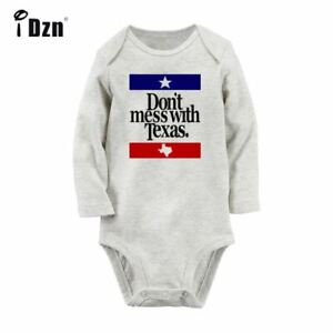 Don-039-t-Mess-With-Texas-Newborn-Jumpsuit-Baby-Long-Sleeve-Rompers-Bodysuit-Clothes