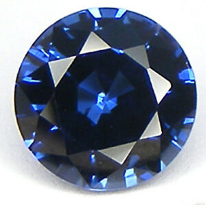 Top Qualite T. Rond 7 Mm. Saphir Bleu Corindon De Synthese Emwy2zkl-07220240-819508665